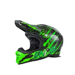 Kaciga Oneal Fury RL Mercury black/green