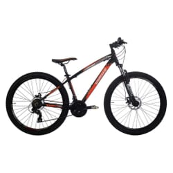 "27.5"" VIRUS MTB 21B DISC ALU BLACK-ORANGE"